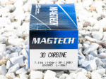 Magtech - Soft Point - 110 Grain 30 Carbine Ammo - 50 Rounds