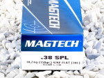 Magtech - Semi Jacketed Soft Point - 158 Grain 38 Special Ammo - 50 Rounds
