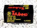 Tula Cartridge Works - Full Metal Jacket - 122 Grain 7.62X39 Ammo - 40 Rounds