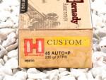 Hornady - Hollow Point - 230 Grain 45 ACP Ammo - 200 Rounds