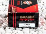 Black Hills Ammunition Semi-Wadcutter 200 Grain 45 ACP (Auto) Ammo - 20 Rounds
