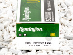 Remington - Full Metal Jacket - 130 Grain 38 Special Ammo - 50 Rounds
