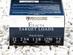 "Fiocchi White Rino #7-1/2 Shot 2-3/4"" 1-1/8 oz. 12 Gauge  Ammo - 25 Rounds"