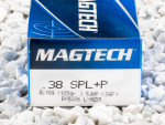 Magtech - Semi Jacketed Hollow Point - 125 Grain 38 Special Ammo - 50 Rounds