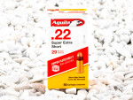 Aguila - Copper Plated Round Nose - 29 Grain 22 Short Ammo - 500 Rounds
