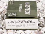 Magtech - Full Metal Jacket Boat Tail - 140 Grain 6.5 Creedmoor Ammo - 500 Rounds