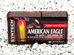 Federal Syntech Total Synthetic Jacket (TSJ) 230 Grain 45 ACP (Auto) Ammo - 50 Rounds