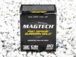 Magtech - Jacketed Hollow Point - 124 Grain 9mm Luger Ammo - 20 Rounds