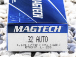 Magtech - Full Metal Jacket - 71 Grain 32 Auto Ammo - 50 Rounds