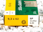 Sellier & Bellot - Soft Point - 285 Grain 9.3x62 Ammo - 20 Rounds