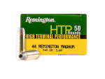 Remington - Semi Jacketed Hollow Point - 240 Grain 44 Magnum Ammo - 500 Rounds