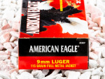 Federal Full Metal Jacket (FMJ) 115 Grain 9mm Luger (9x19) Ammo - 1000 Rounds