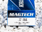 Magtech - Semi Jacketed Hollow Point - 98 Grain 32 Smith & Wesson Long Ammo - 50 Rounds