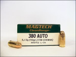 Magtech - Fully Encapsulated Base - 95 Grain 380 Auto Ammo - 50 Rounds