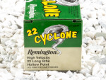Remington Cyclone - Hollow Point - 36 Grain 22 Long Rifle Ammo - 5000 Rounds