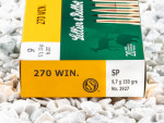Sellier & Bellot - Soft Point - 150 Grain 270 Winchester Ammo - 20 Rounds