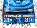 Federal - Soft Point - 150 Grain 308 Win Ammo - 200 Rounds