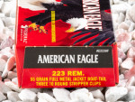 Federal - Full Metal Jacket Boat Tail - 55 Grain 223 Remington Ammo - 30 Rounds