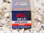 CCI - Copper Plated Round Nose - 40 Grain 22 Long Rifle Ammo - 100 Rounds