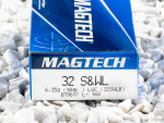Magtech - Lead Wadcutter - 98 Grain 32 Smith & Wesson Long Ammo - 50 Rounds