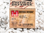 Hornady - Flex Tip Technology - 185 Grain 45 Long Colt Ammo - 20 Rounds