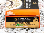 Federal - MatchKing Hollow Point Boat Tail - 190 Grain 300 Winchester Magnum Ammo - 20 Rounds