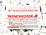 Winchester - Lead Round Nose - 40 Grain 22 LR Ammo - 5000 Rounds
