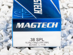 Magtech - Lead Round Nose - 158 Grain 38 Special Ammo - 50 Rounds