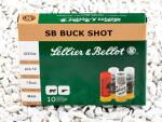 Sellier & Bellot - #1 Buck - 12 Pellets 12 Gauge Ammo - 250 Rounds
