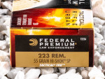 Federal LE Tactical Soft-Point (SP) 55 Grain 223 Remington Ammo - 20 Rounds