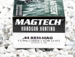 Magtech - Solid Copper Hollow Point - 200 Grain 44 Magnum Ammo - 20 Rounds