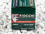 Fiocchi Full Metal Jacket Boat Tail (FMJ-BT) 150 Grain 300 AAC Blackout  Ammo - 50 Rounds