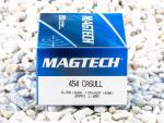 Magtech - Full Metal Jacket Flat - 260 Grain 454 Casull Ammo - 20 Rounds