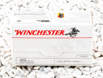Winchester Full Metal Jacket (FMJ) 230 Grain 45 ACP (Auto)  Ammo - 100 Rounds