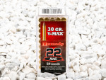 Hornady - V-MAX - 30 Grain 22 Magnum Ammo - 50 Rounds