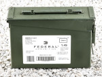 Federal - Full Metal Jacket XM855 - 62 Grain 5.56x45mm Ammo - 420 Rounds in Ammo Can