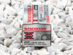 Winchester - Lead Round Nose Match - 40 Grain 22 Long Rifle Ammo - 500 Rounds