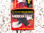 45 ACP - 230 Grain FMJ - Federal American Eagle - 100 Rounds