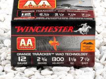 """Image of Winchester AA TrAAcker 2-3/4"""" #7-1/2 Shot 1-1/8 oz. 12 Gauge  Ammo - 25 Rounds"""