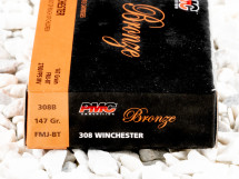 Image of PMC Full Metal Jacket Boat Tail (FMJ-BT) 147 Grain 308 Winchester (7.62X51)  Ammo - 20 Rounds
